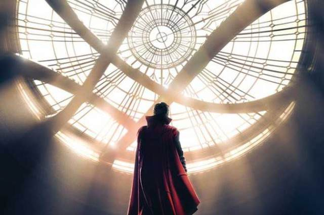 doctor strange uk poster 640x426 The Sorcerer Supreme Is Finally Here In This Magical Doctor Strange Teaser