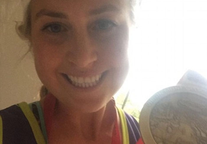 Sister Of TOWIE Star Is Having Her London Marathon Time Investigated marathon1