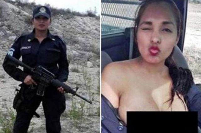 nadia2 1 640x426 Topless Mexican Policewomans Career Prospects Are Looking Up