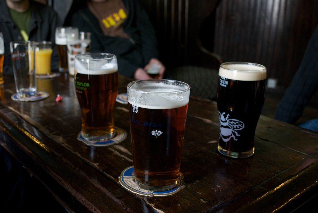 Drinking Beer Can Help You Lose Weight, According To Science pints