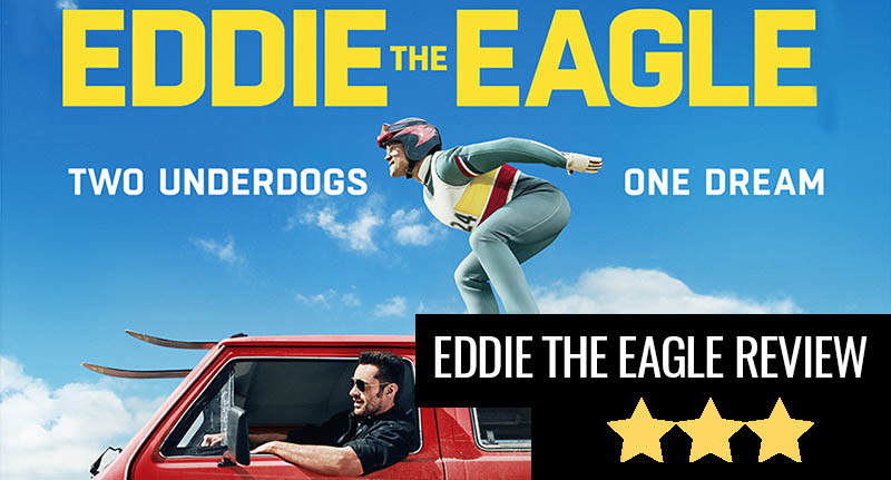 Eddie The Eagle, A Heart Warming If Mostly Forgettable Experience review thumb test