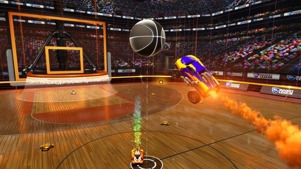 rocket league basketball.0.0 Rocket League Devs Show New Basketball In Action