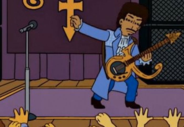 simpsons1 Simpsons Producer Shares Script From Prince Episode That Never Was