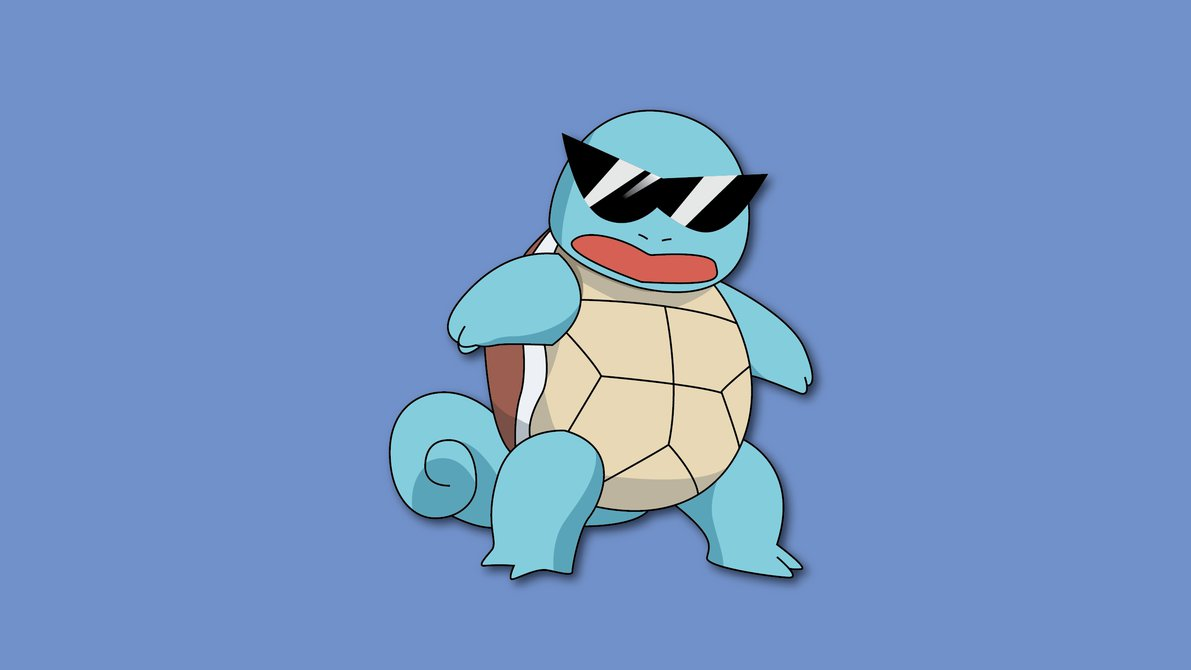 squirtle squad leader by penguinpwnge d8hbm7h Settling An Ancient Argument: The Best First Gen Starter Pokemon