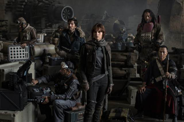 First Teaser For Rogue One: A Star Wars Story Looks Insane star wars rogue one cast 640x426