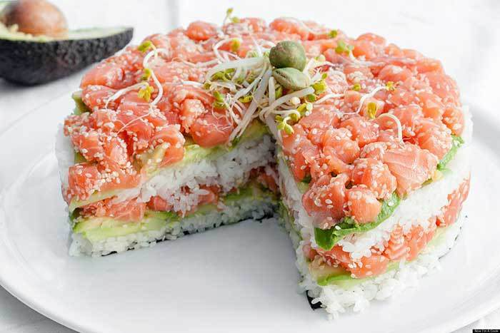 sushi1 Sushi Pie Is Actually A Thing, But No Ones Quite Sure About It