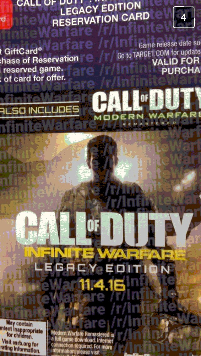 this years cod is named call of duty infinite warfare 14617489717 Title For Next Call Of Duty Leaks On PlayStation Store