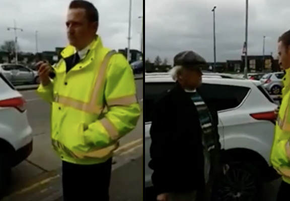Ronnie Pickering Is Back, Defending OAPs From Parking Warden By Swearing A Lot warden 2