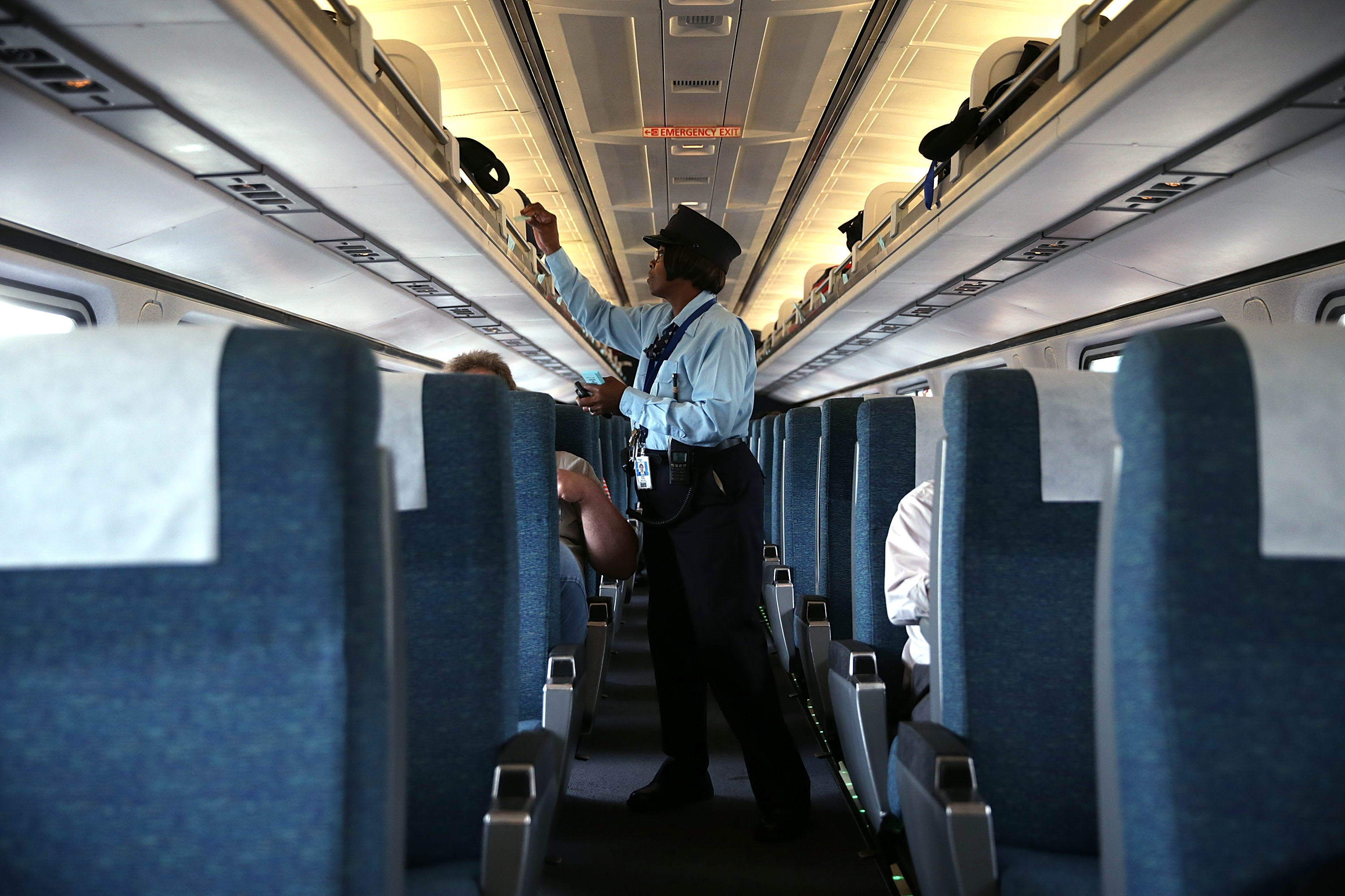 Trains Will Have Hidden Cameras To Catch You With Your Feet Up GettyImages 486372718
