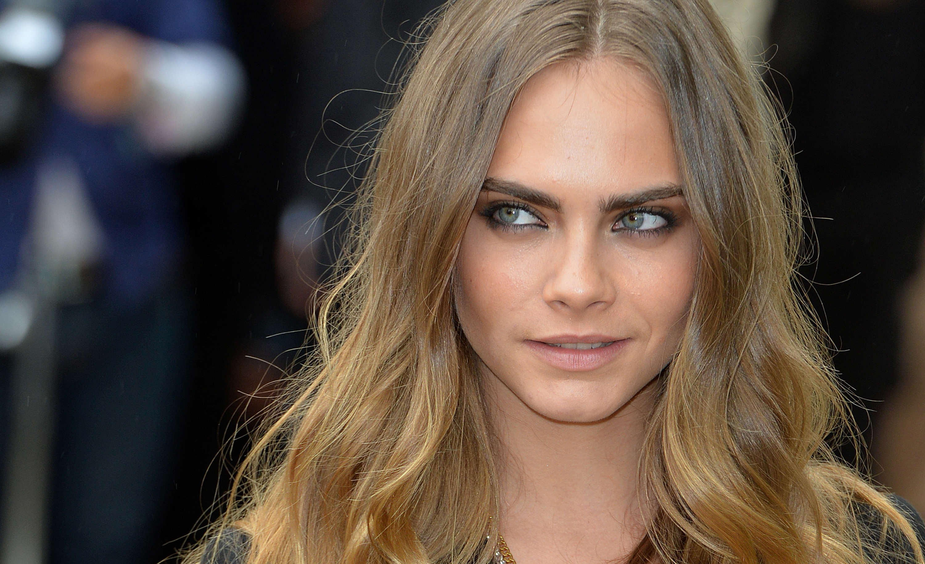 GettyImages 489447564 Cara Delevingne Got Naked And Walked In Forest For Suicide Squad