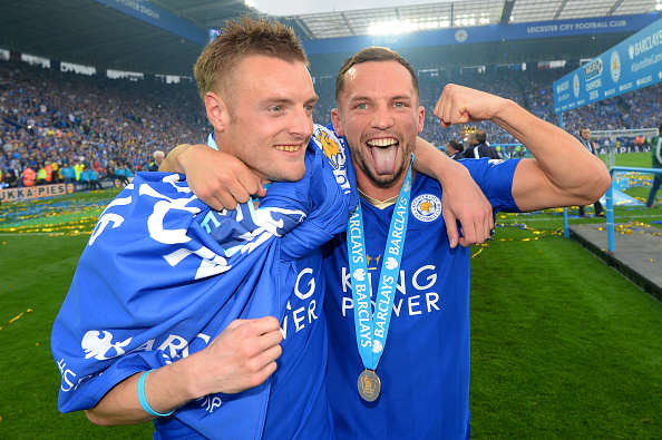Vardy Drinkwater Michael Regan Getty Why Leicesters Incredible Season Gives England Hope