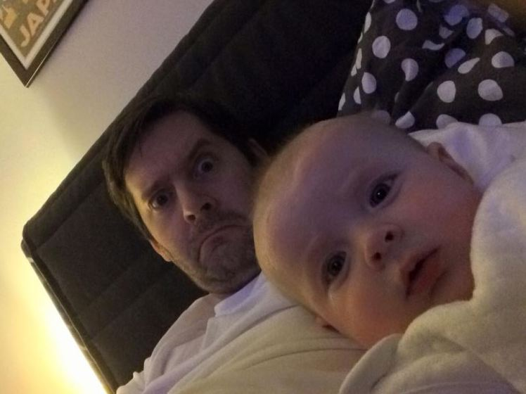baby7 Dad Torments Mum With Hilarious Photoshop Pics Of Babys Day Out