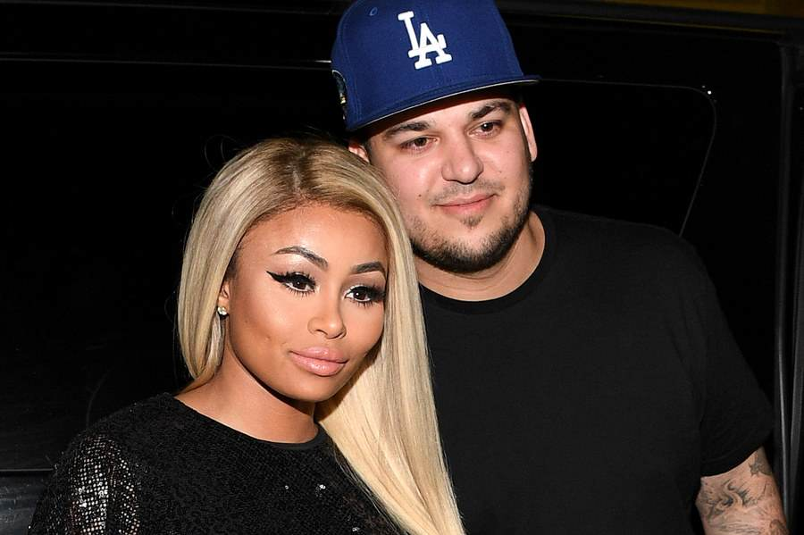 Blac Chyna And Rob Kardashians Plans For Unborn Baby A Sad Sign Of The Times blac chyna rob 1