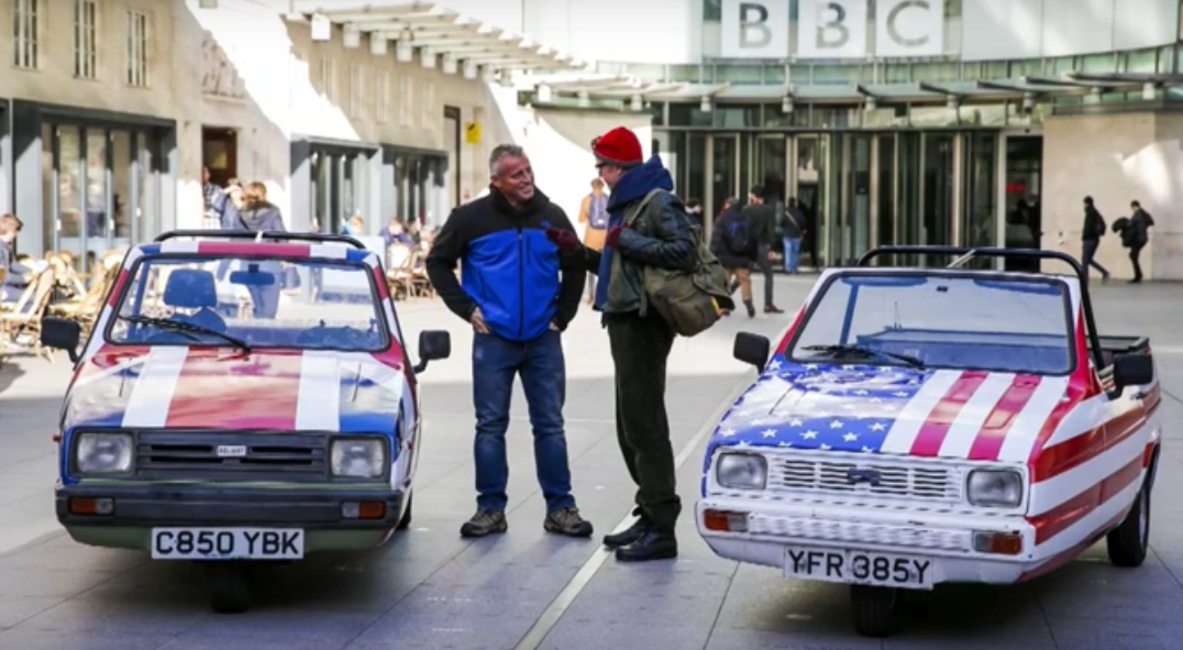 car Matt LeBlanc Reveals A LOT About New Top Gear Series
