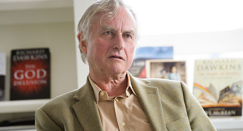 dawkin face Interviewer Asked Richard Dawkins If He Turned To God During Stroke