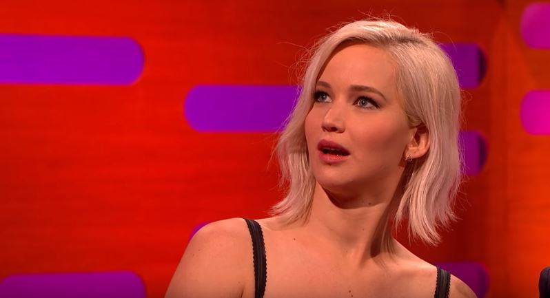 lawrence1 Jennifer Lawrence Reveals Awkward Moment In Front Of Star Wars Cast
