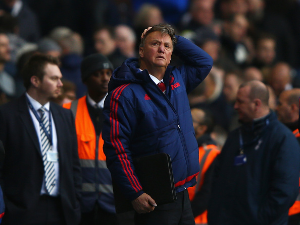 lvg getty Man United Fan Nails F*cking Incredible Impression Of LVG