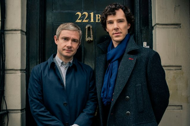Does Sherlock Have A New Partner In Season Four? mast Sherlock Benedict Martin COVE hires 640x426