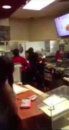 mcfight2 Two McDonalds Staff Brawl For Unbelievably Ridiculous Reason