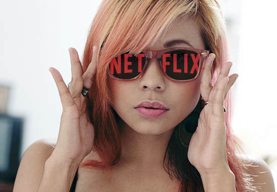 Netflix Is Turning Us All Into Binge Watching Zombies Apparently netflix flickr wt