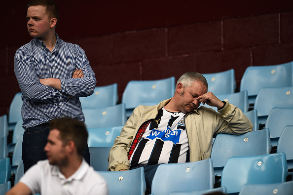 nufc fan stu forster getty Five Things The Premier League Taught Us This Weekend