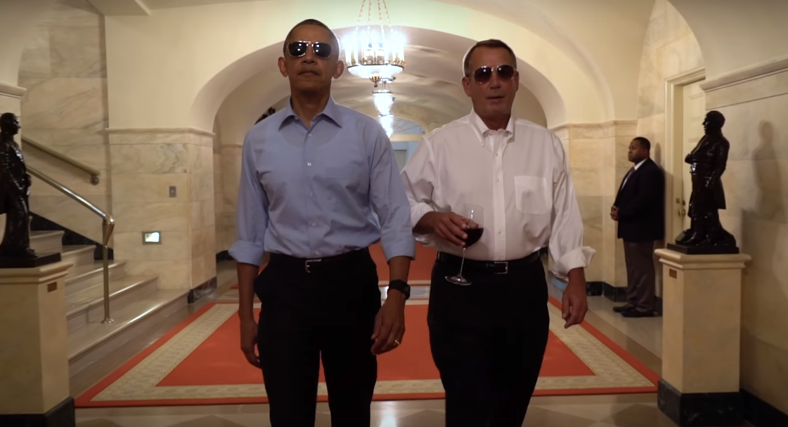 obama President Obama Releases Hilarious Spoof Farewell Video