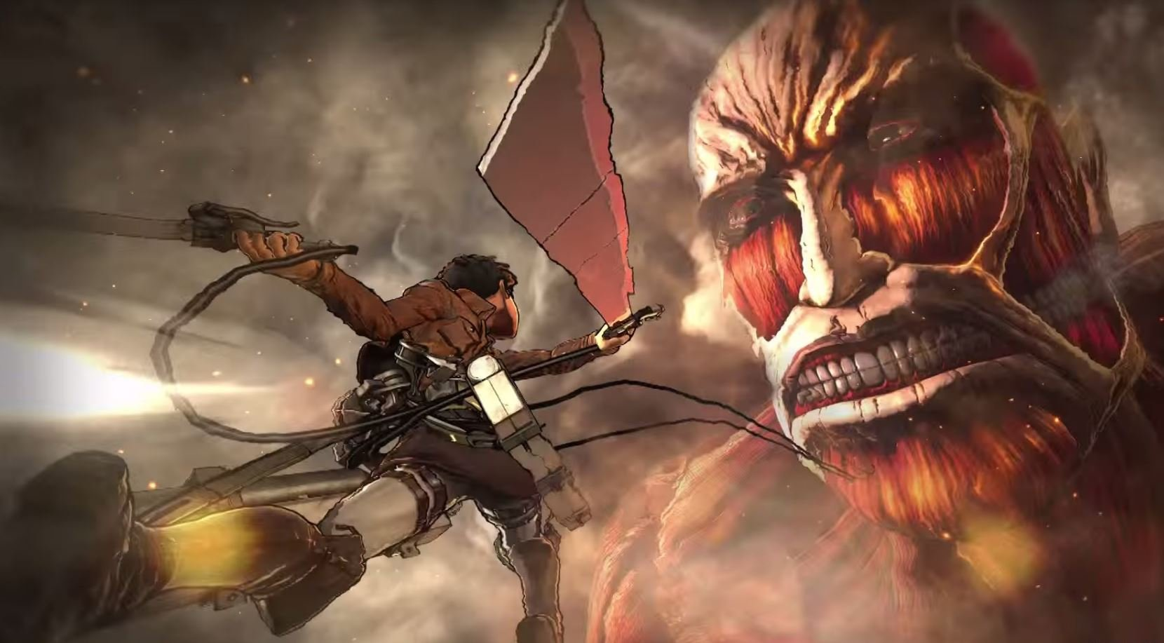 Four Crazy Minutes Of Attack On Titan Footage   In English original 5