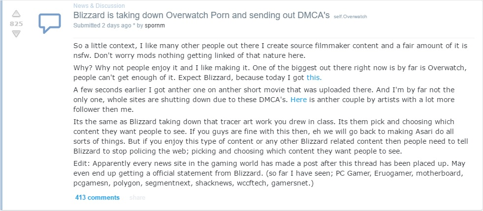 overwatch porn 3 This Video Game Inspired Porn Is Being Removed From Pornhub