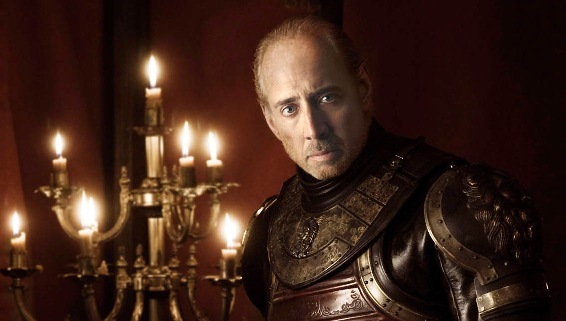 twin lannister Nicolas Cage As Every Game Of Thrones Character Is Hilarious