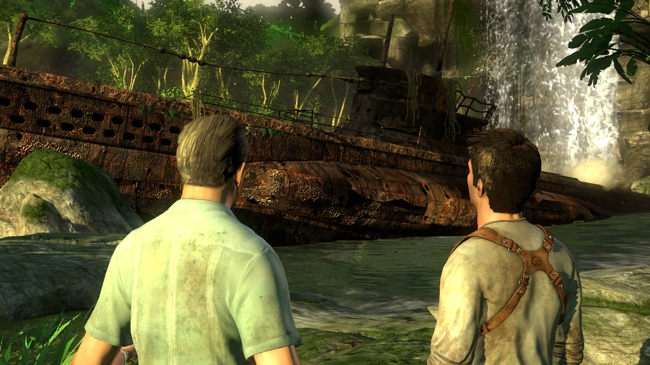 uncharted boat Uncharted   The Story So Far