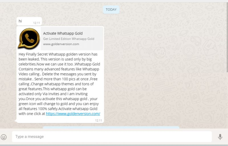 whatsapp gold What Is WhatsApp Gold And Why Shouldnt You Download It?