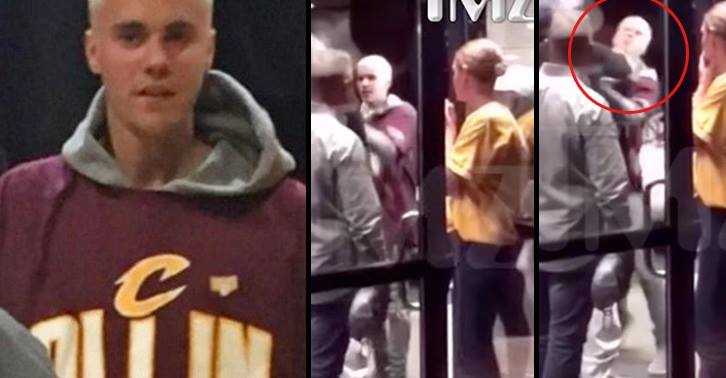 Justin Bieber Throws Weight Around, Gets Beaten Up By Bigger Guy 13407571 10154123437500549 856925749 n