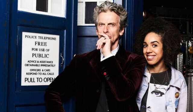 89872381 capaldimackiepa 640x371 Doctor Who Producers Reveal That The Role Was Offered To A Black Actor