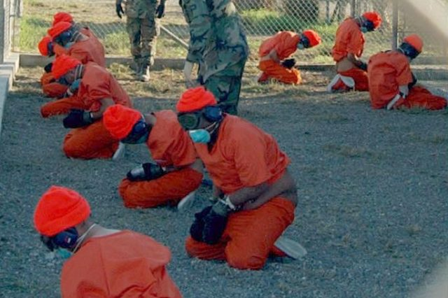 Camp x ray detainees 640x426 Declassified Documents Reveal Brutal Extent Of CIA Abuse And Torture
