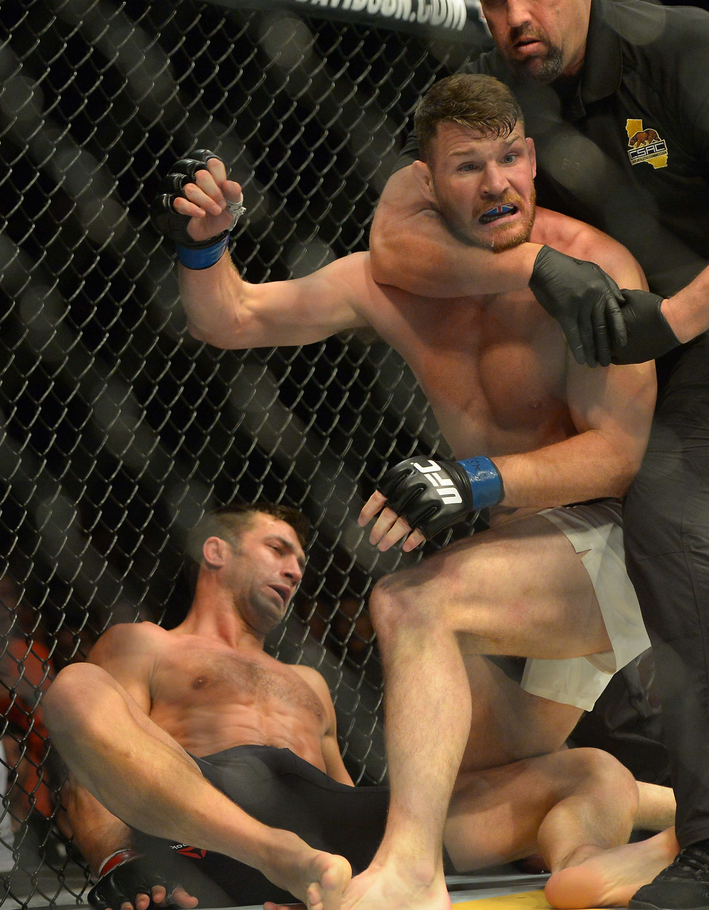 GettyImages 538200308 First British UFC Champ Michael Bisping Fires More Shots At Luke Rockhold