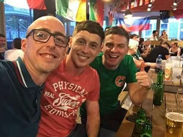Ireland fans 2 Ireland Fan Loses Ticket Saving Mans Life, What Happens Next Is Incredible