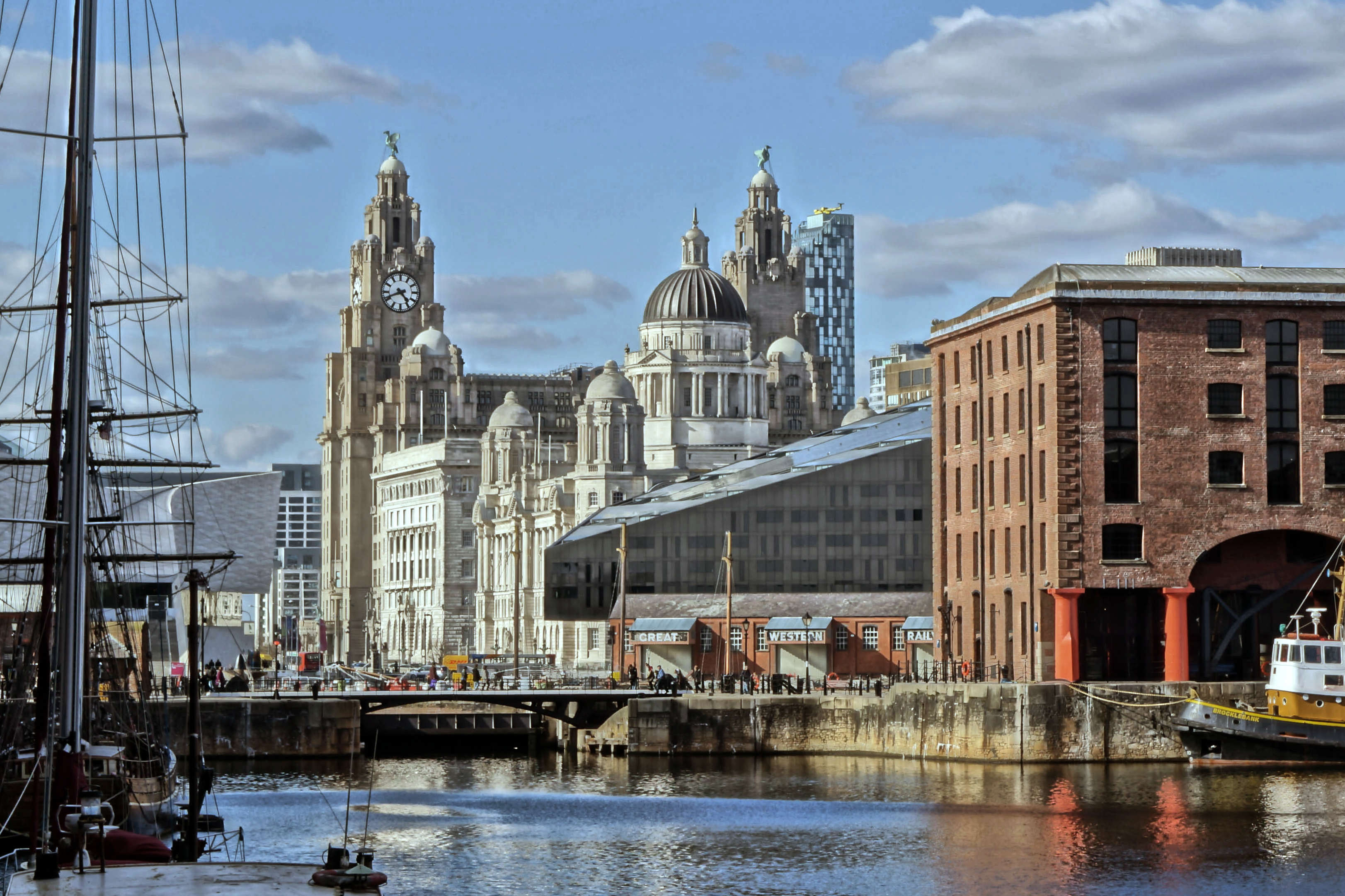 Liverpool Pier Head from ALbert Dock The Biggest Super Gonorrhoea Hotspots Have Been Revealed