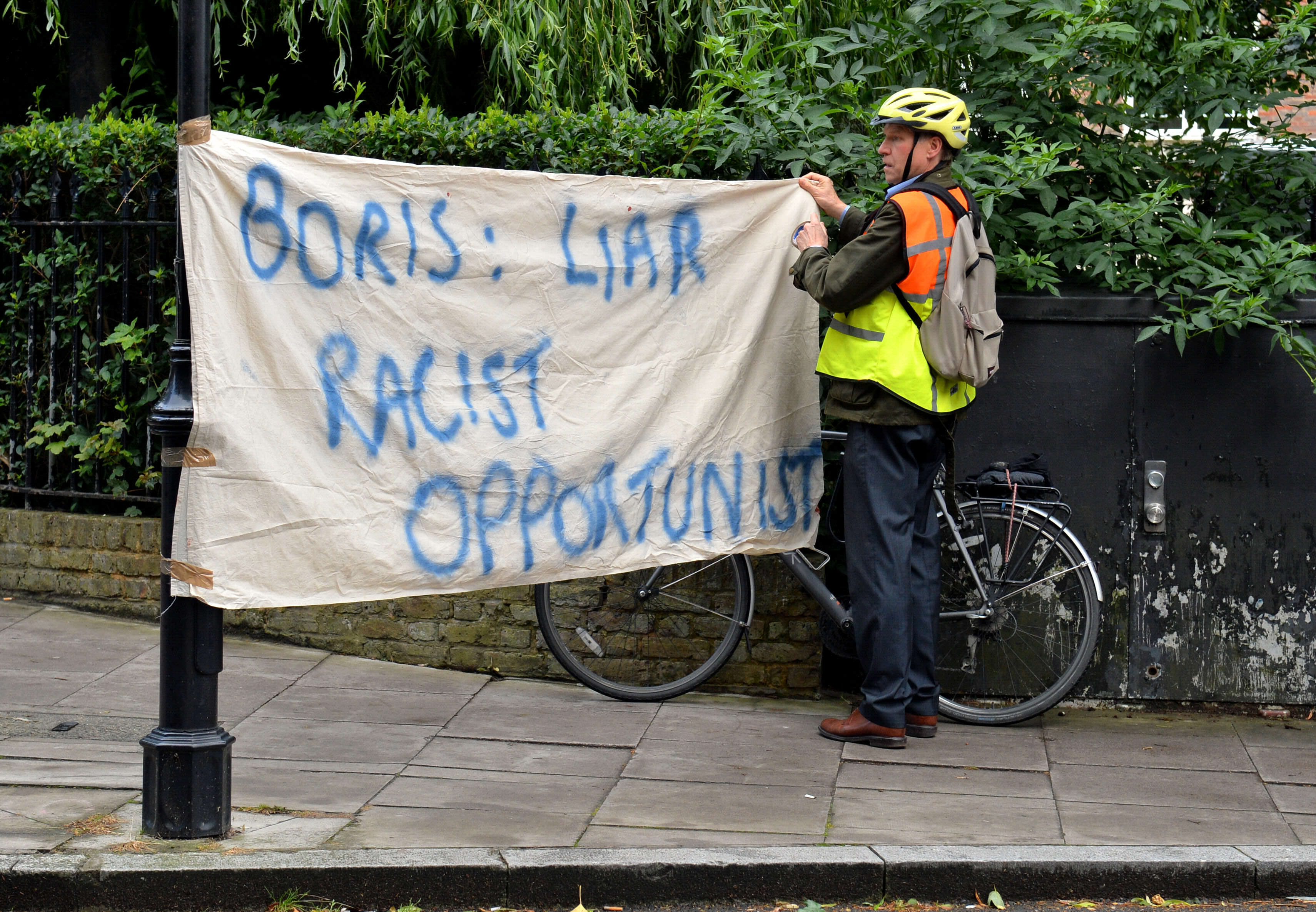 PA 26749402 Conspiracy Theory Emerges About Why Boris Johnson Has Ruled Out Being PM