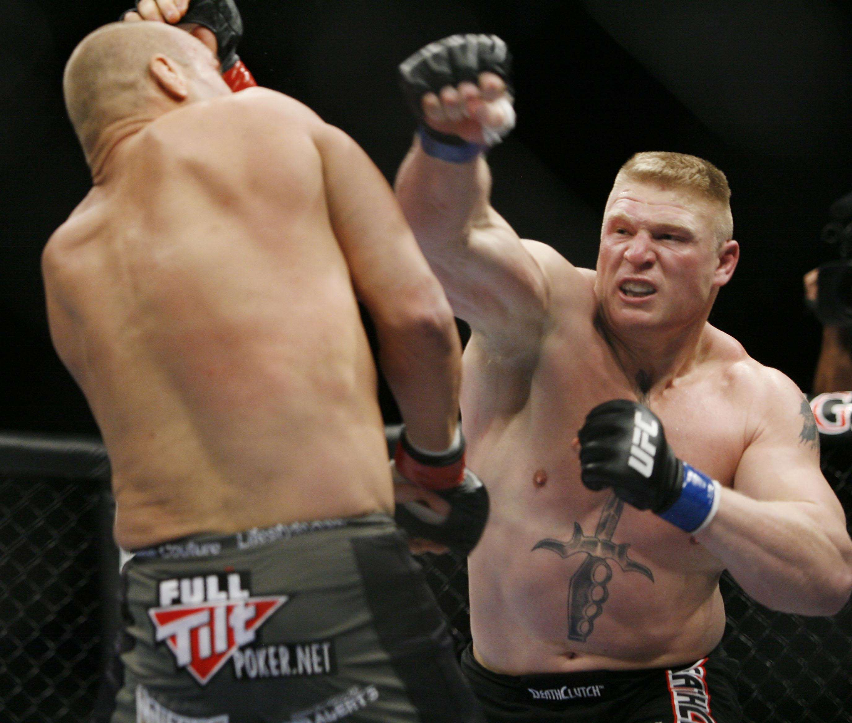 PA 6559015 Brock Lesnar Shares Thoughts On UFCs Biggest Draw Conor McGregor