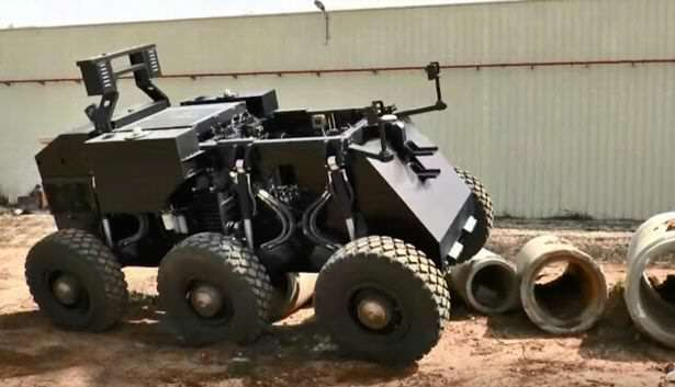 RoBattle 1 This High Tech Combat Robot May Change War As We Know It