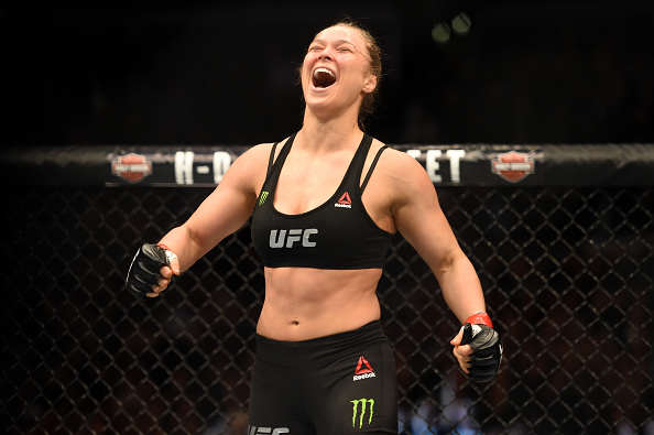 Rousey Getty WWE Wants Top UFC Star In Return For Brock Lesnar