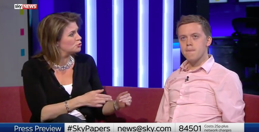 Journalist Storms Off Sky News Over Orlando LGBT Comments