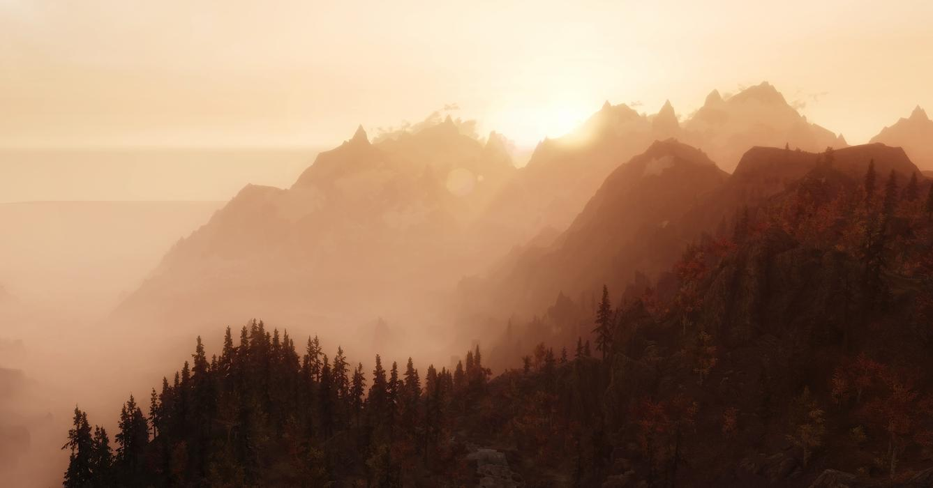 bStzwrc Skyrim Looks Absolutely Gorgeous In These 2016 Mods