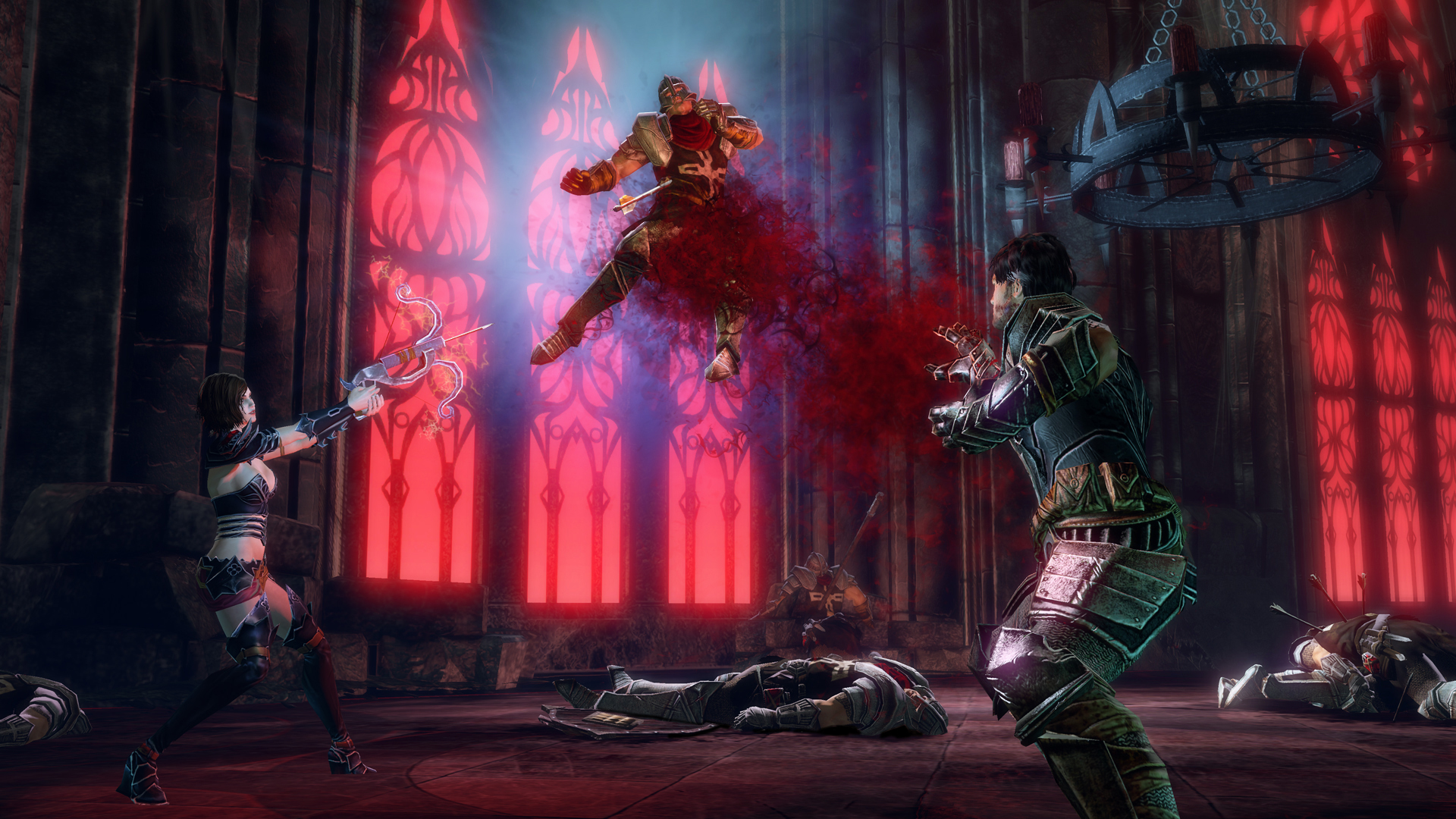 blood knights screenshot signature lift draw blood cathedral Xbox One Gets Eight More Backwards Compatible Games