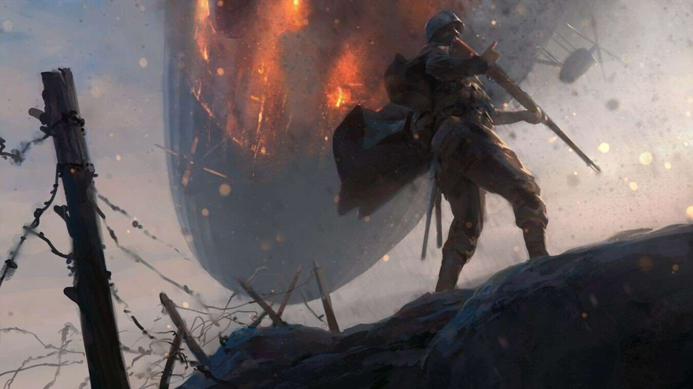 Check Out This Gorgeous Battlefield 1 Concept Art cMgqkWC