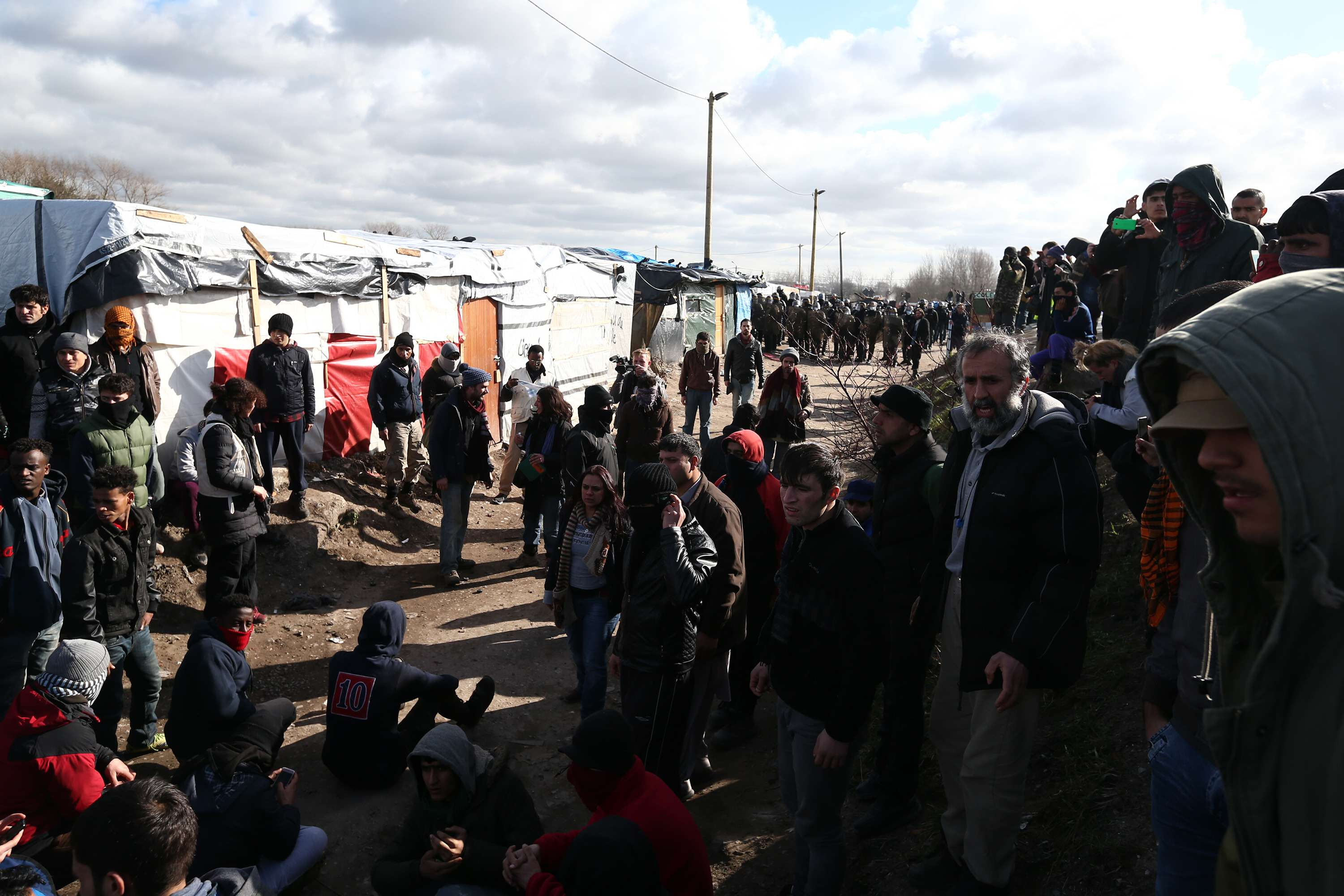calais Calais Migrants Say Brexit Is Great News For Them