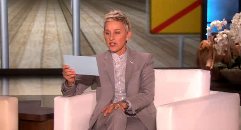 ellen fb Ellen DeGeneres Sued For Making Boob Joke During Show
