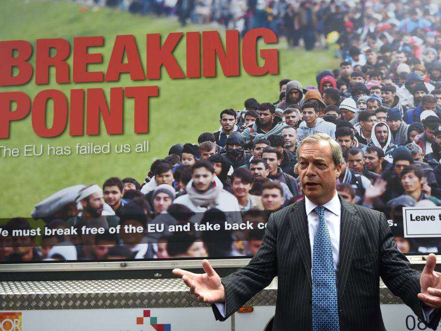 farage Nigel Farage Calls Himself A Victim When Talking About Jo Cox And Refugees