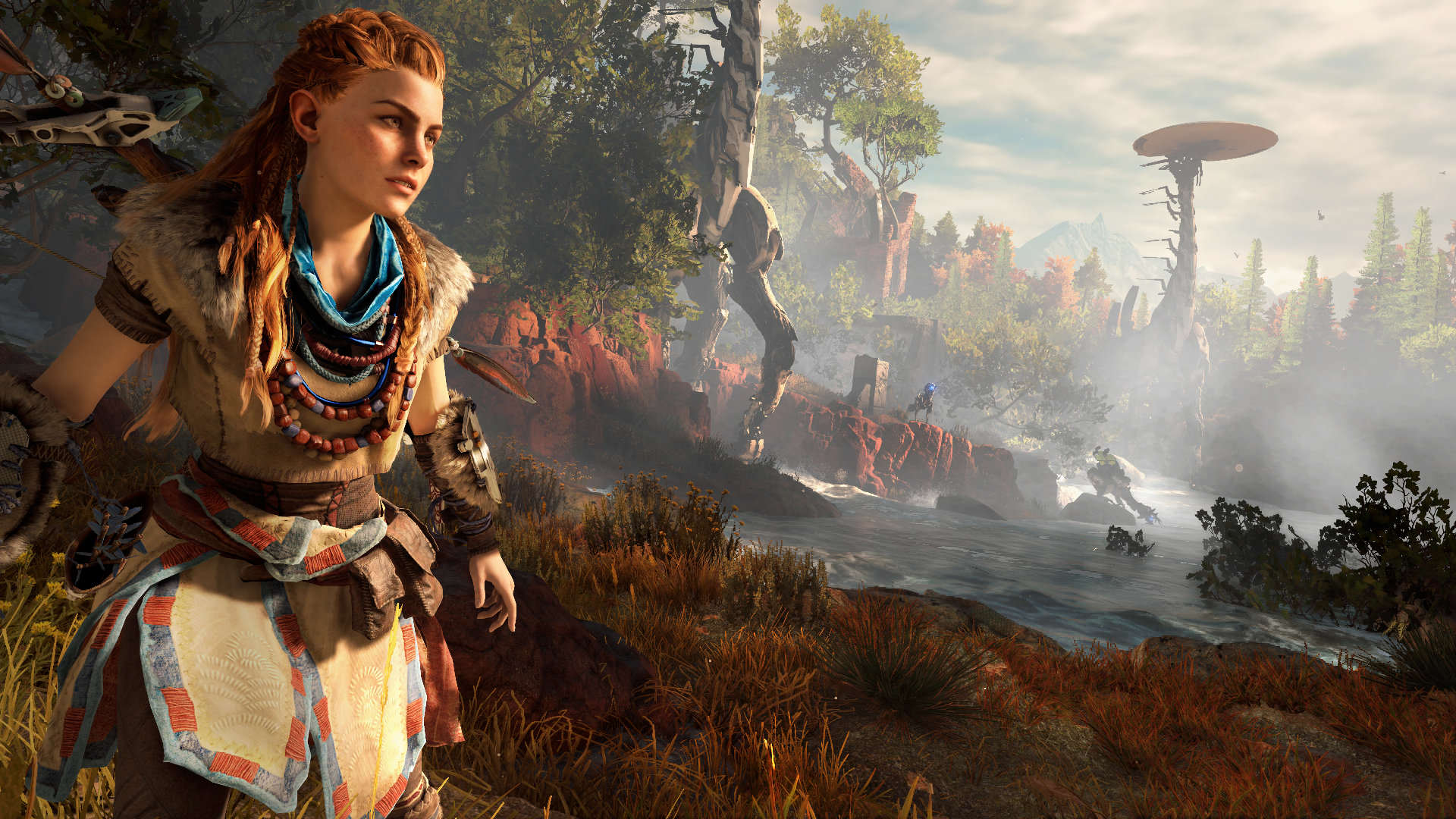 horizon zero dawn screen 04 us 15jun15 Horizon Zero Dawn Gets Eight Minutes Of Breathtaking Footage