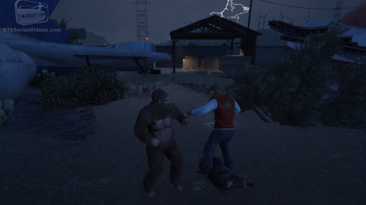 GTA 5 Players Have Found A New Hidden Character large chrome 2016 06 27 11 24 20